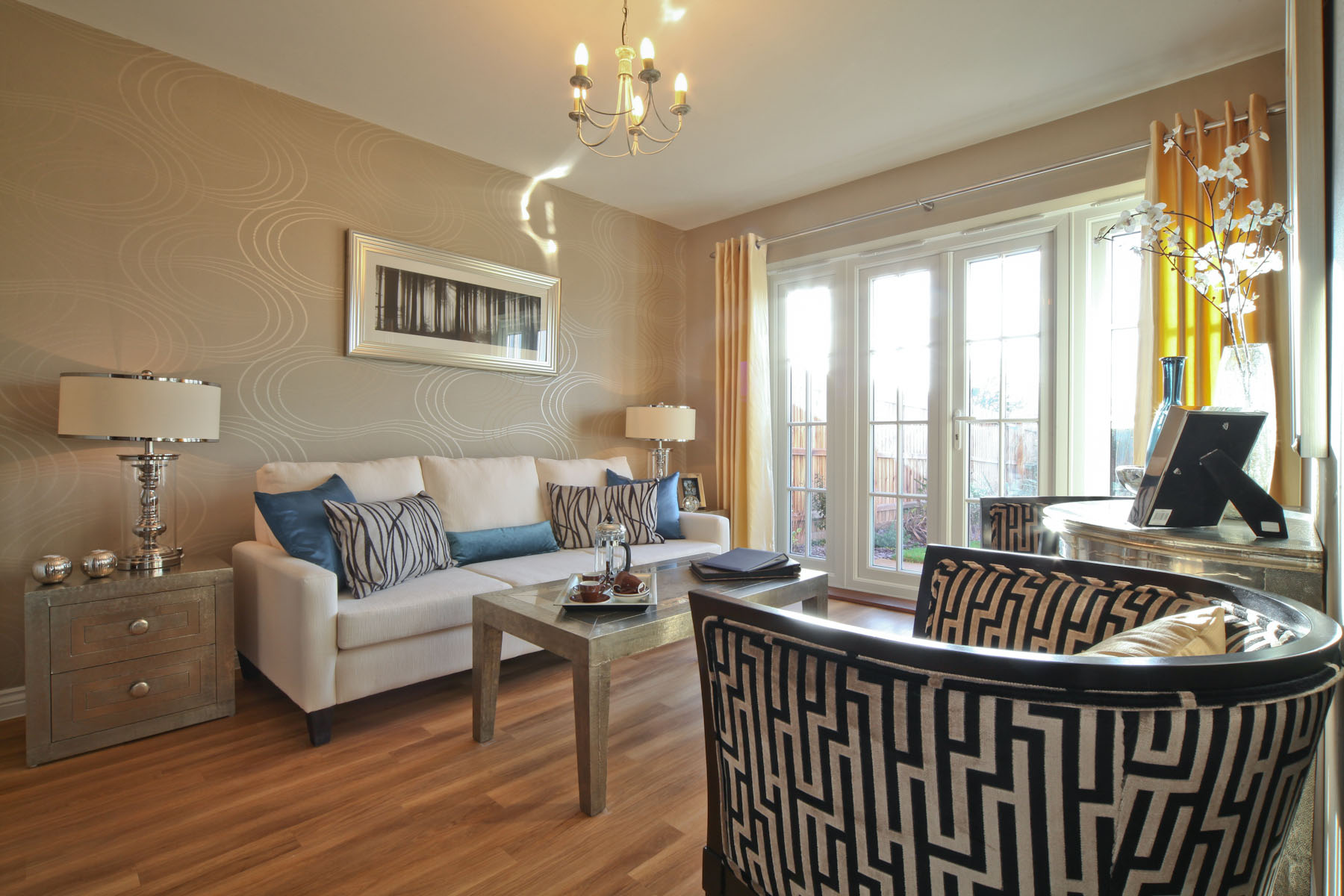 Taylor Wimpey typical garden room 2